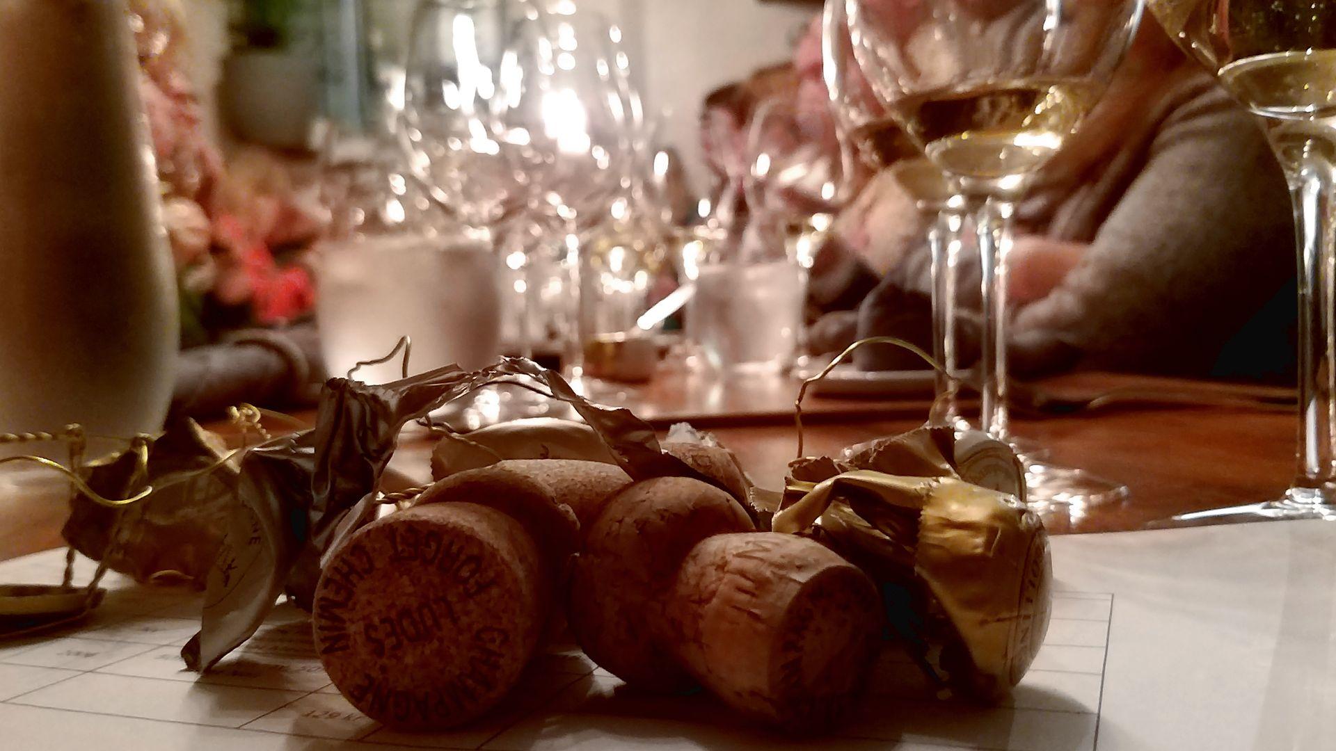 Vinprovning Champagne